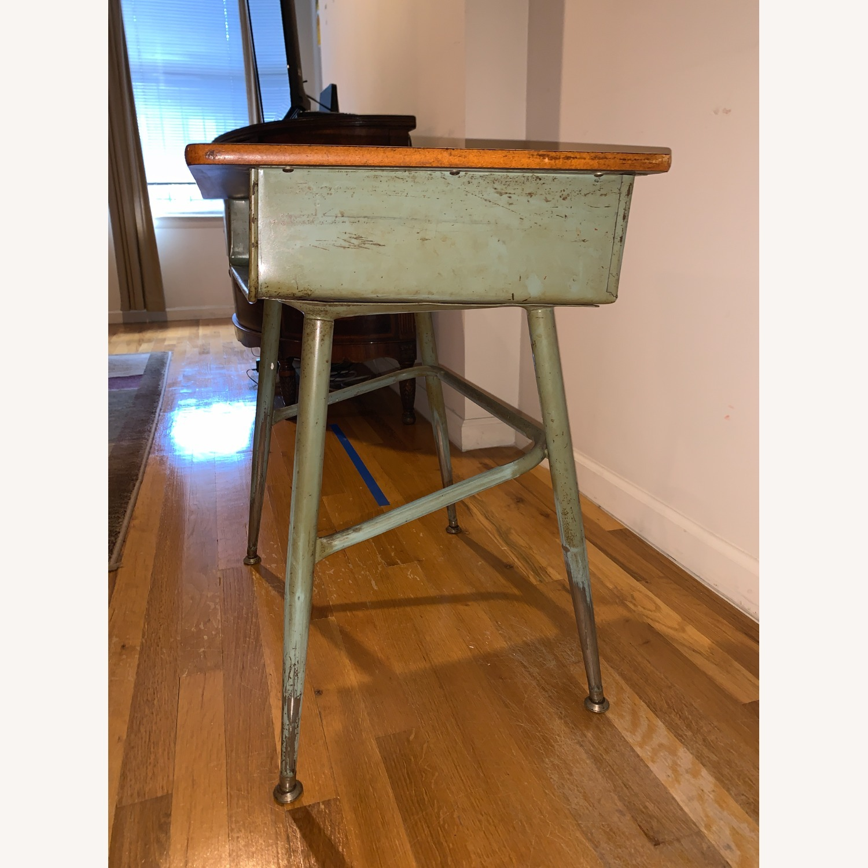 Vintage School Desk - image-2