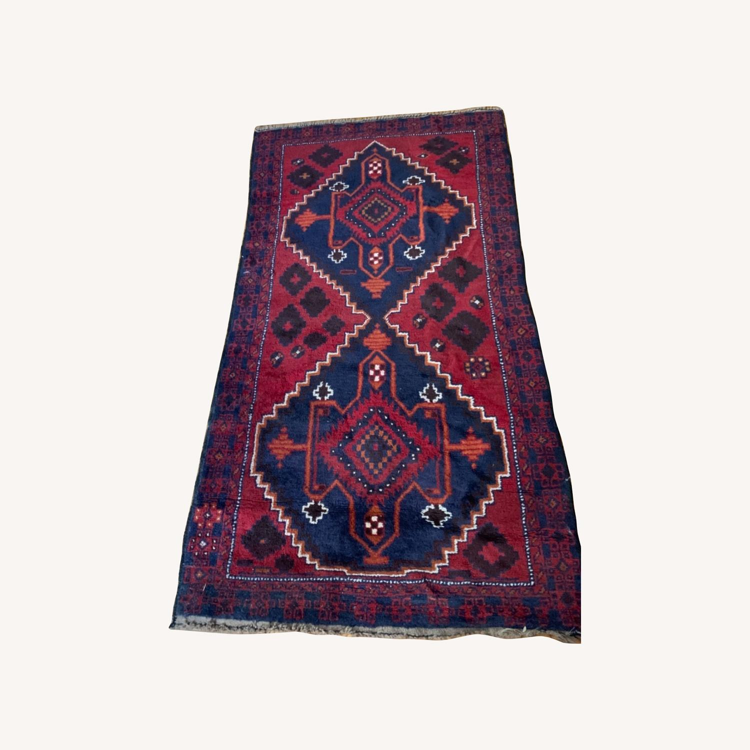 Authentic Turkish Wool Rug 3x5 from Turkey - image-0