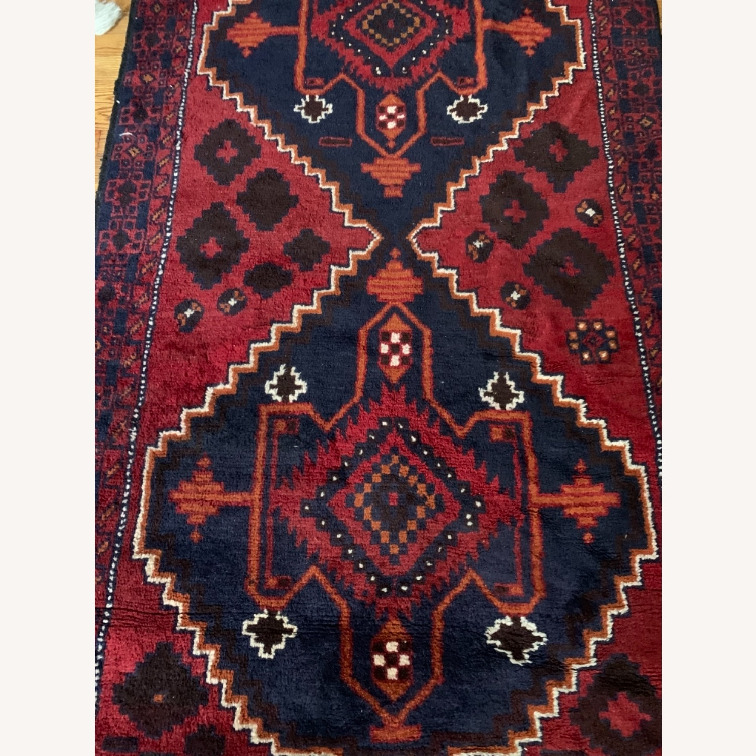 Authentic Turkish Wool Rug 3x5 from Turkey - image-2