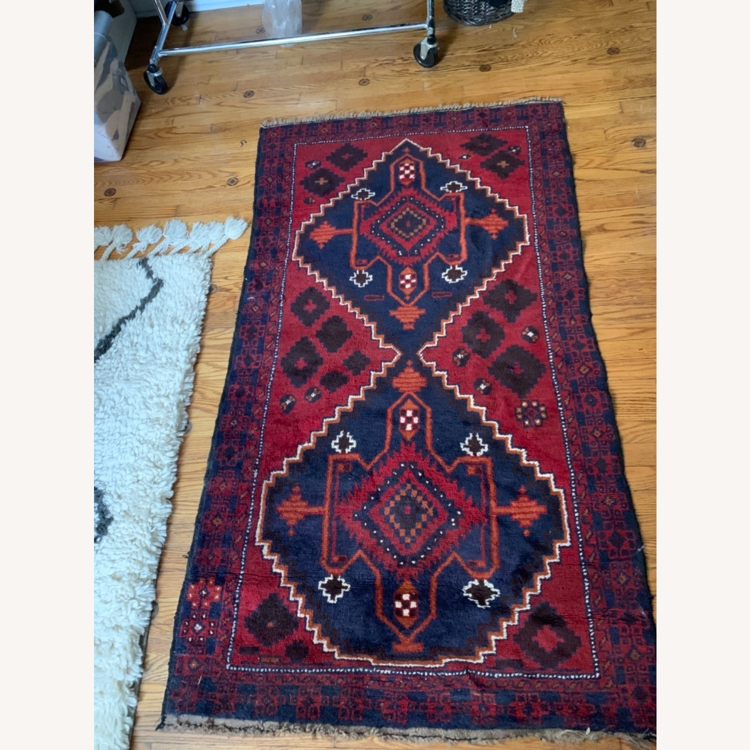 Authentic Turkish Wool Rug 3x5 from Turkey - image-1