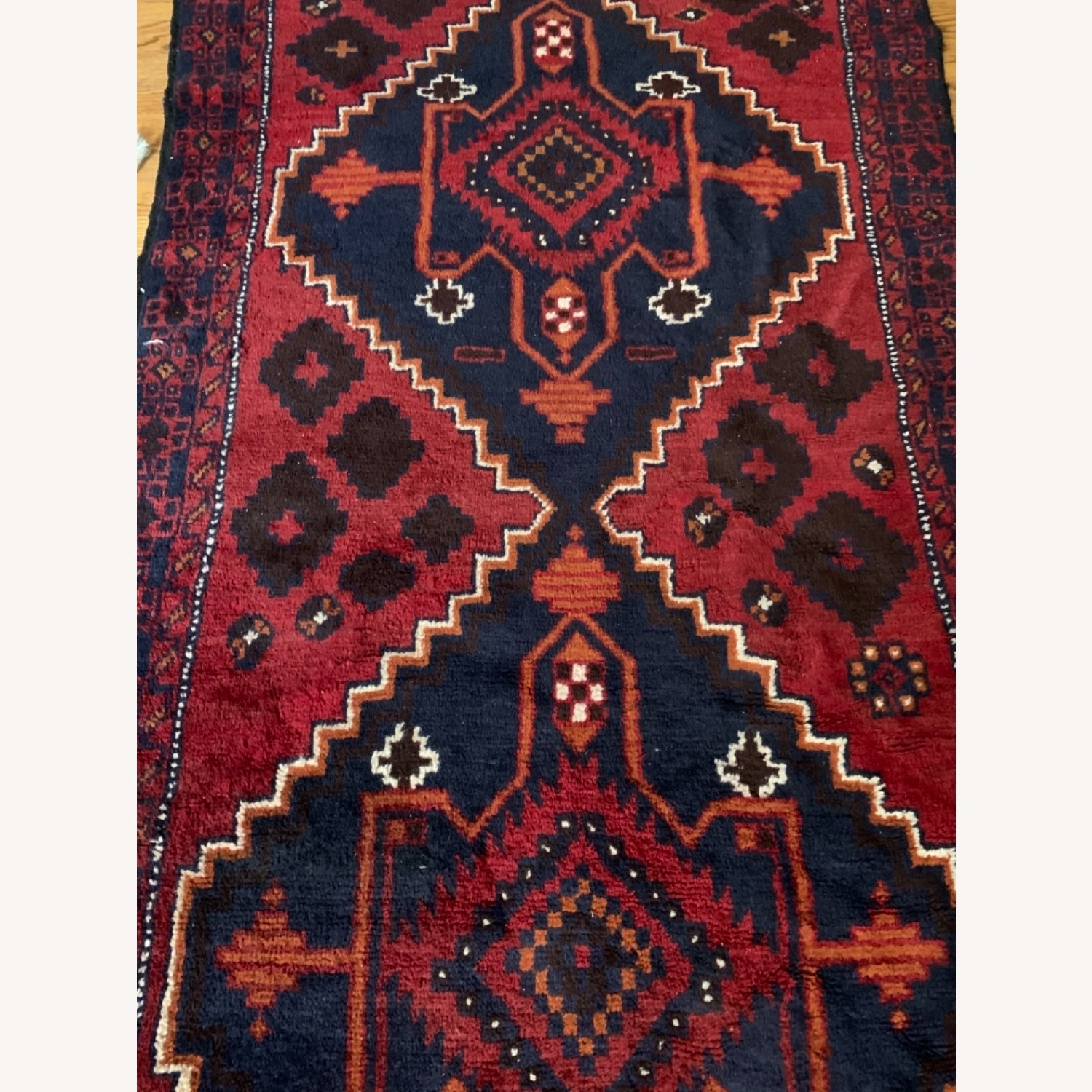 Authentic Turkish Wool Rug 3x5 from Turkey - image-3