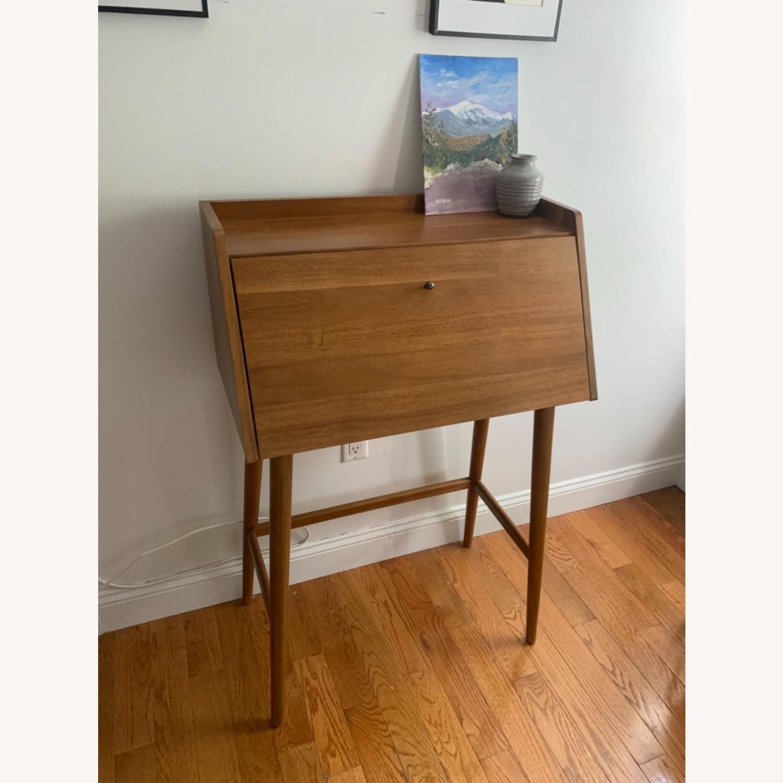 West Elm Mid Century Desk - image-1