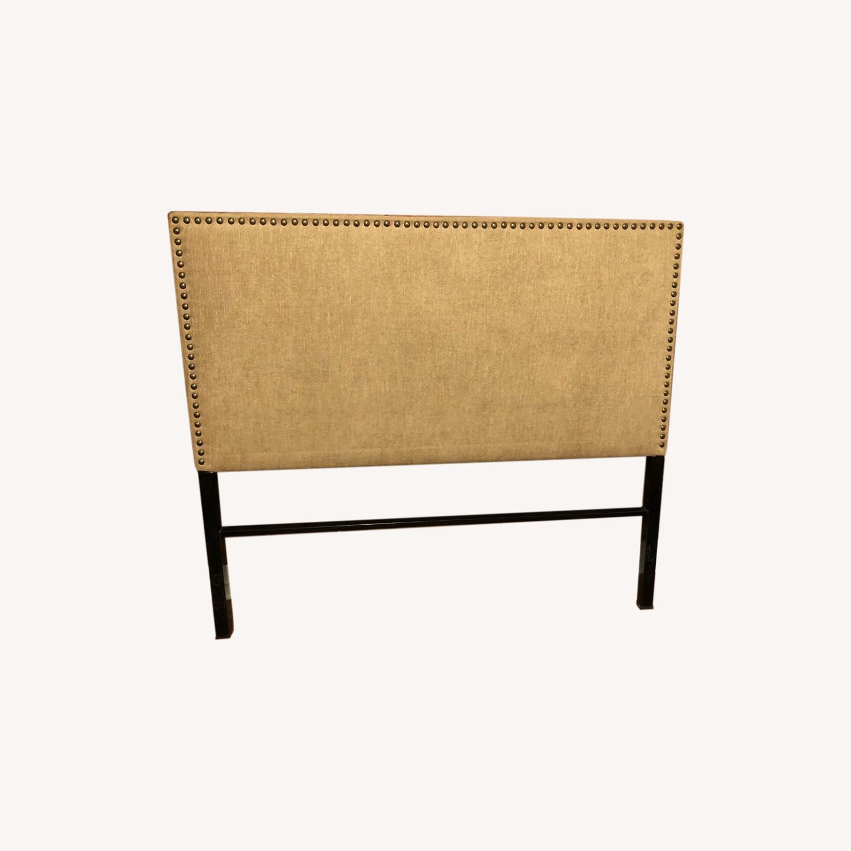 Queen Upholstered Headboard - image-0