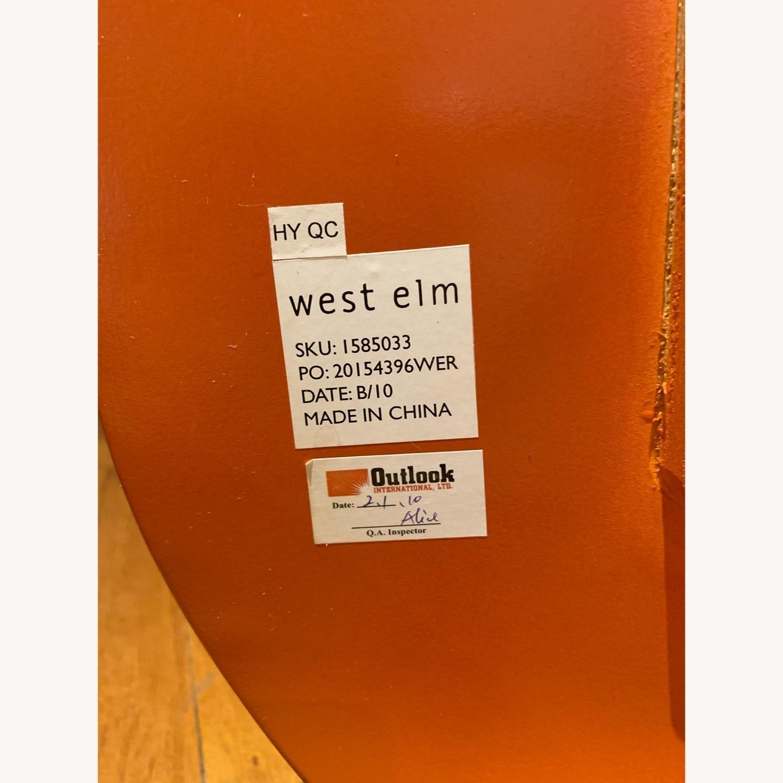 West Elm Retro Orange Office Chair - image-3