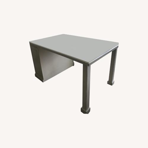 Used Furniture of America White Kitchen Island for sale on AptDeco