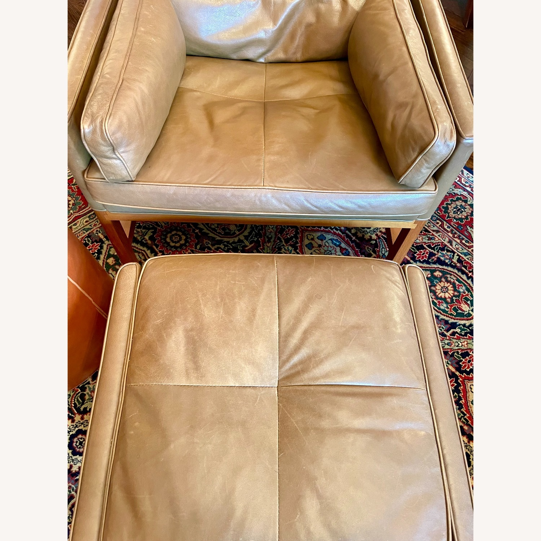 BassamFellows CB-51 Chair and Ottoman - image-3