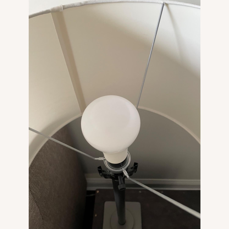 Dark Gray Metal Table Lamp - image-3