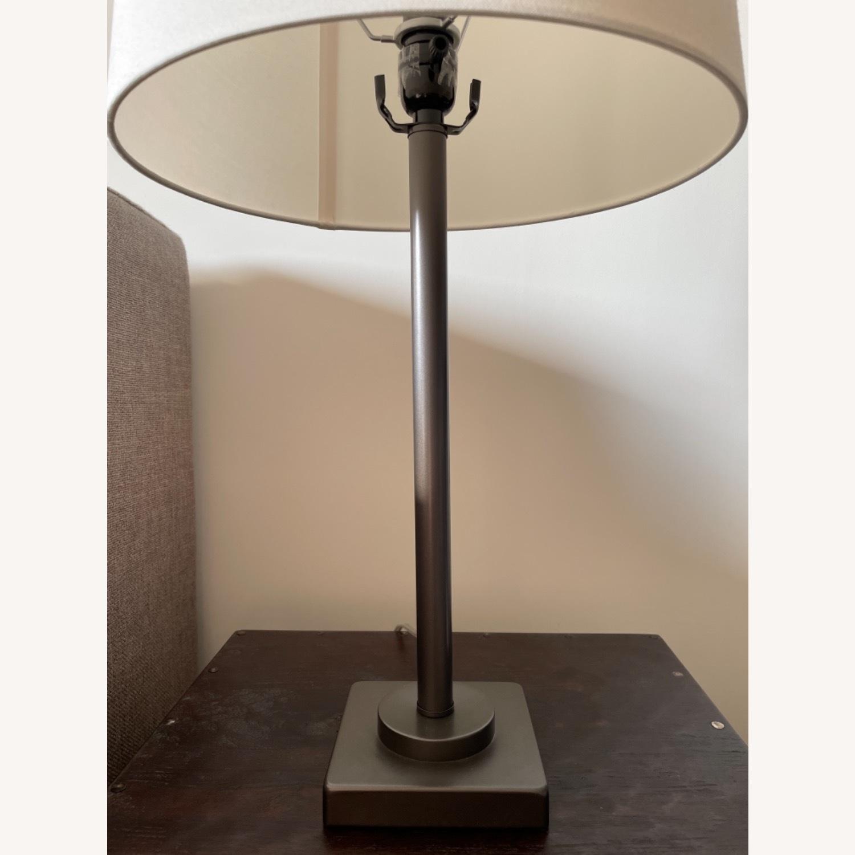 Dark Gray Metal Table Lamp - image-7