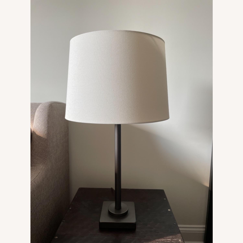 Dark Gray Metal Table Lamp - image-5
