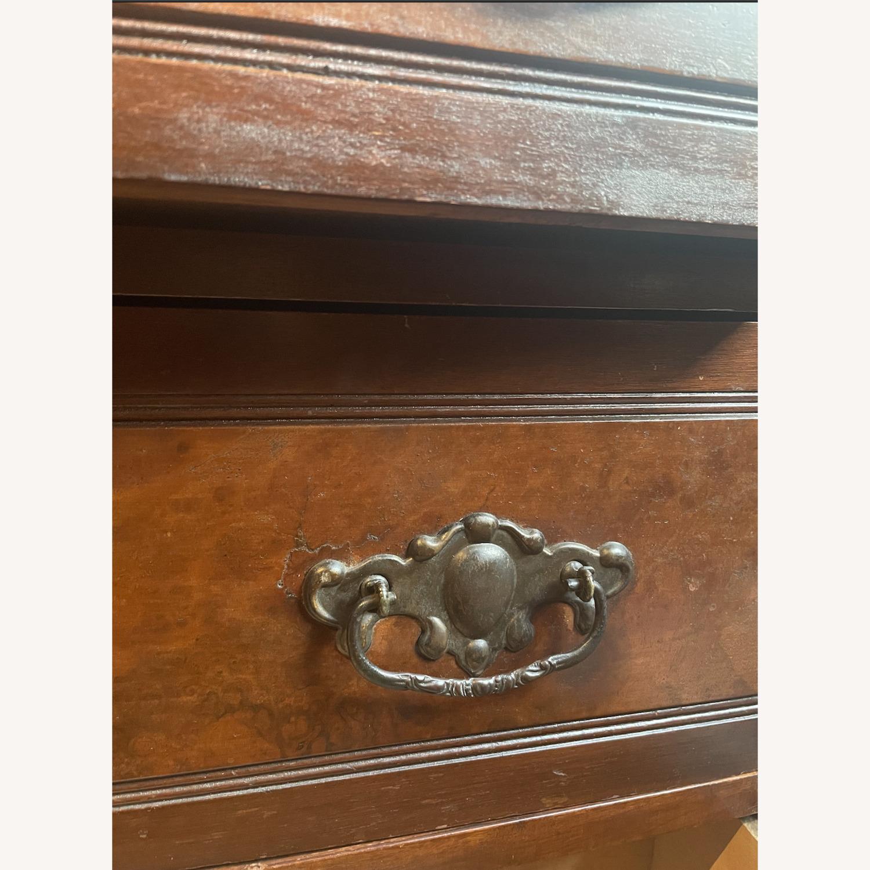 Antique 3 Drawer Dresser w/ Mirror - image-3