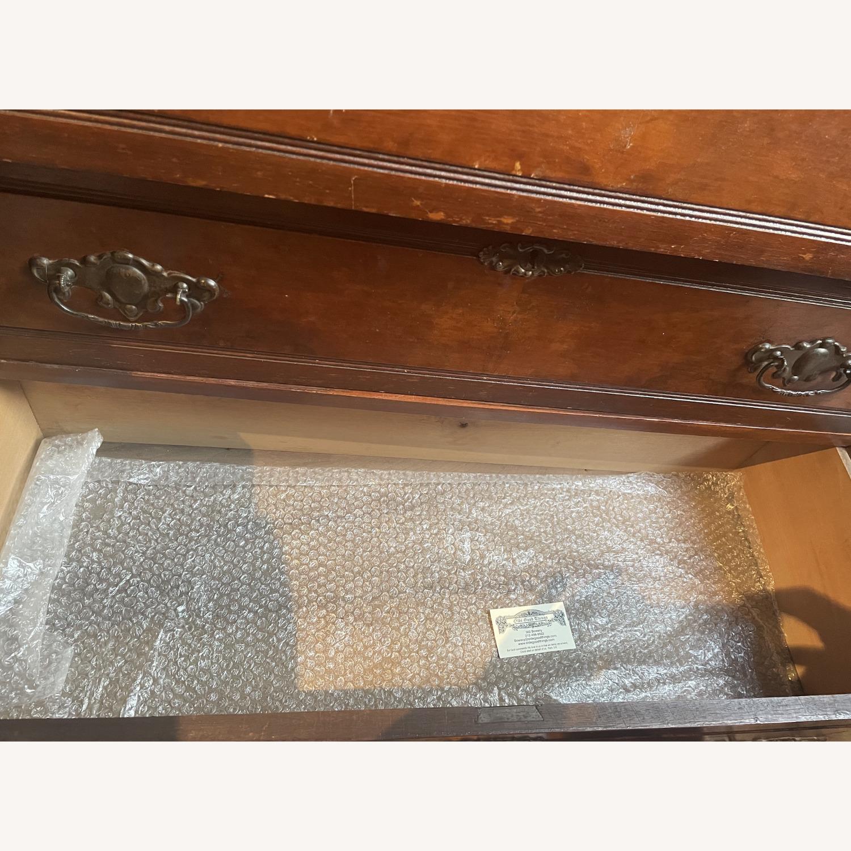 Antique 3 Drawer Dresser w/ Mirror - image-2