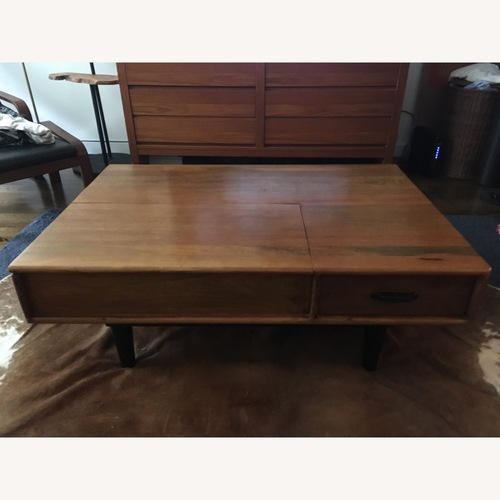 Used West Elm Coffee Table Midcentury Modern for sale on AptDeco