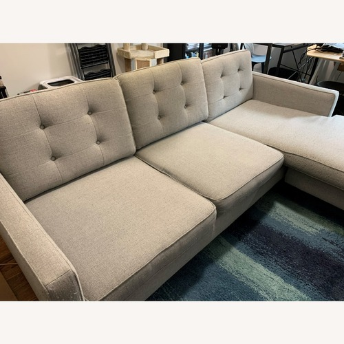 Used West Elm Reversible Sectional Sofa for sale on AptDeco