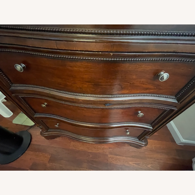 Original Wood Antique Armoire - image-2