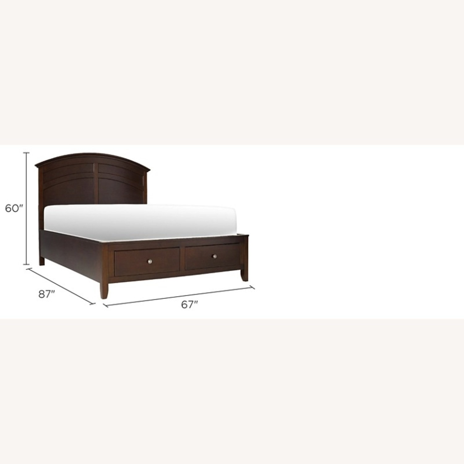 Raymour & Flanigan Kylie Storage Bed - image-8