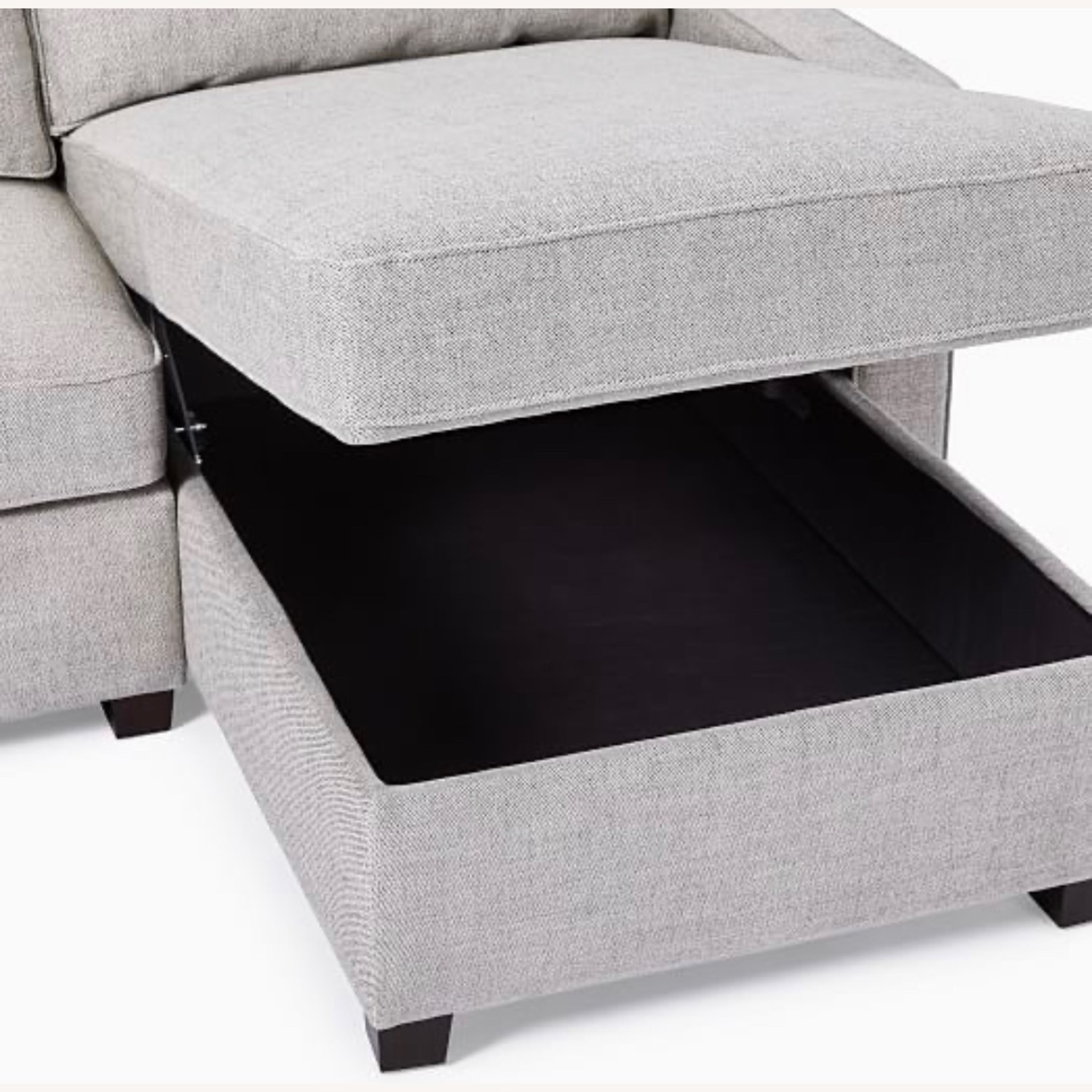 West Elm Henry Sleeper Sofa with Storage Chaise - image-1