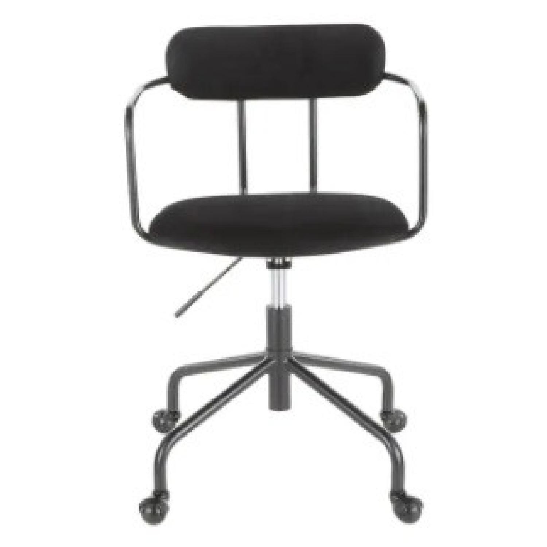 Carson Carrington Gallivare Velvet Task Chair - image-5