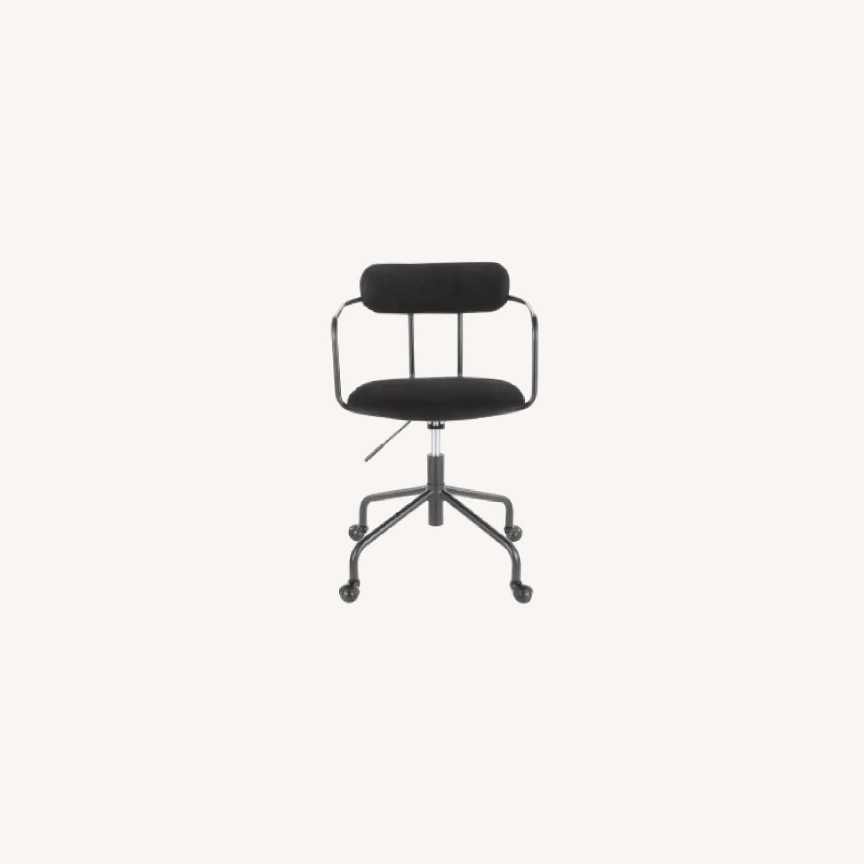 Carson Carrington Gallivare Velvet Task Chair - image-0