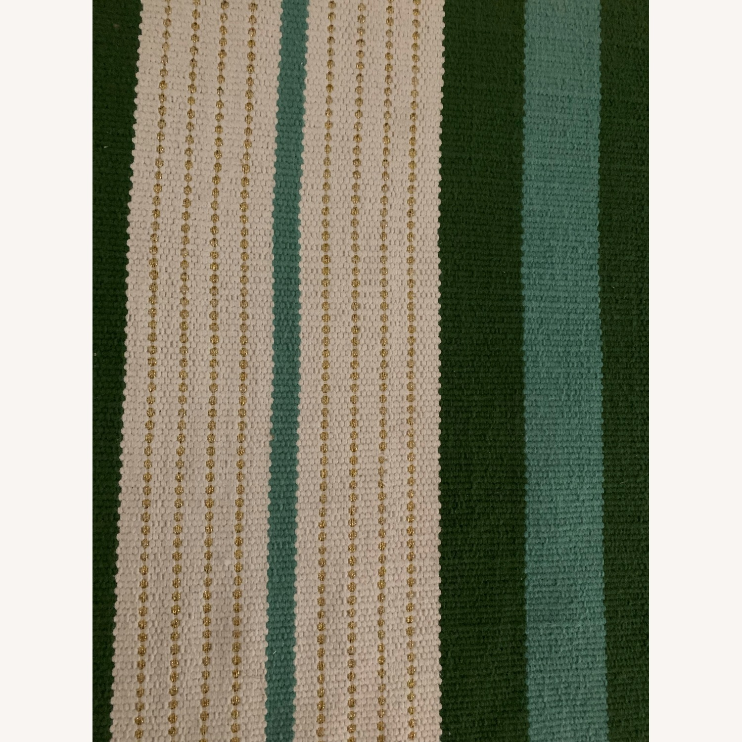 Target Teal Green Striped Woven Rug 7 x 10 - image-3