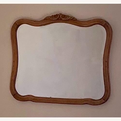 Used Vintage Wood Mirror for sale on AptDeco
