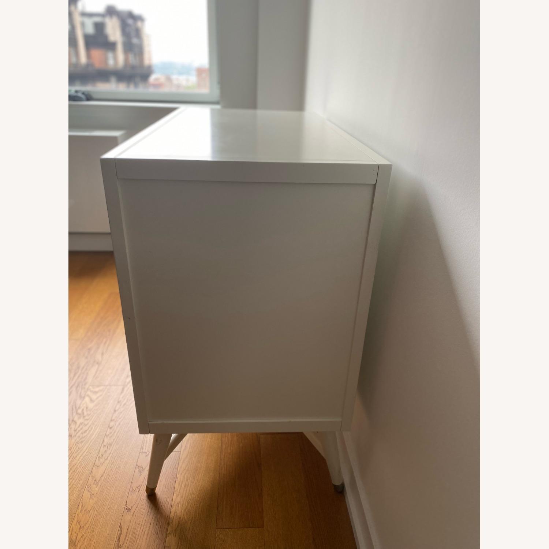 3 Drawer White Dresser by Dwell Studio - image-3