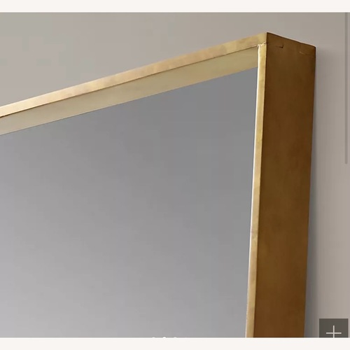 Used Restoration Hardware Gold Mirror for sale on AptDeco