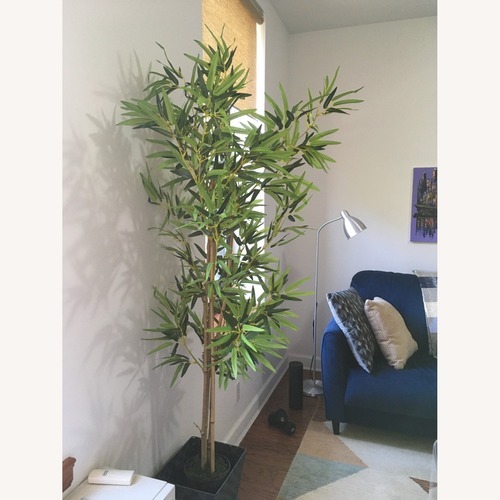 Used Artificial Bamboo Plant with Pot for sale on AptDeco