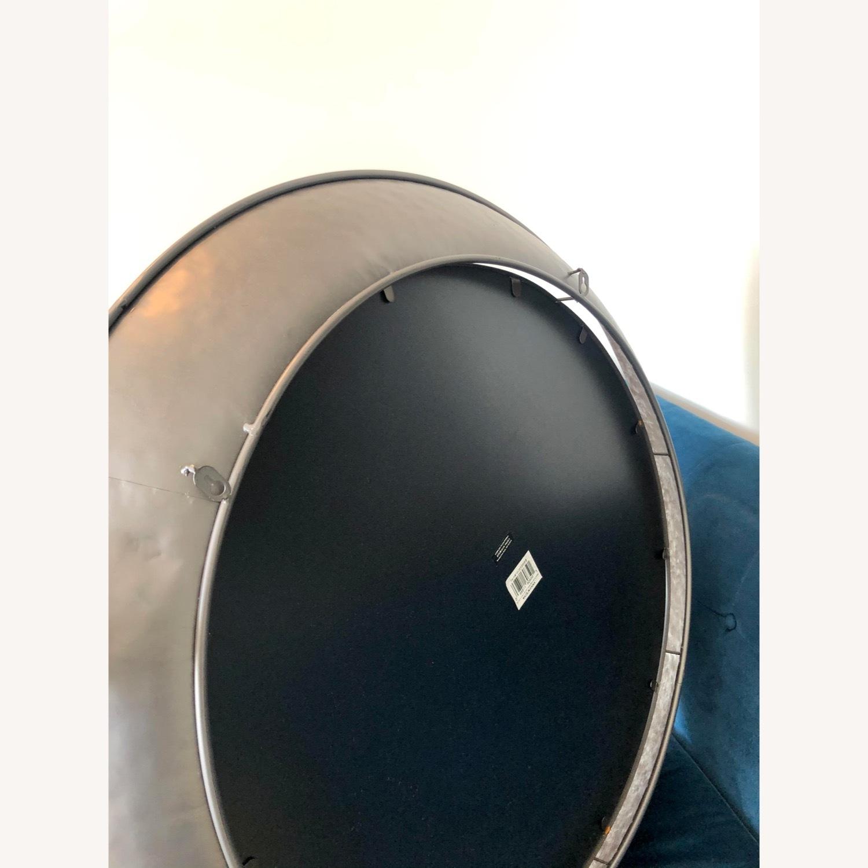 Wayfair Round Silver Metal Framed Accent Mirror - image-3