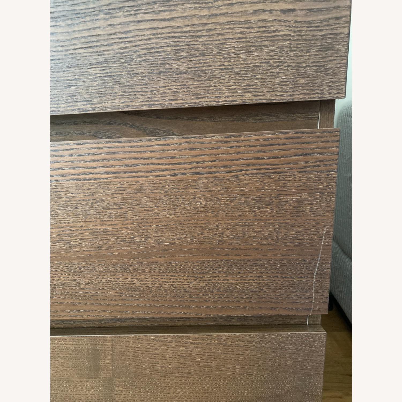 IKEA MALM Brown Dresser - image-2