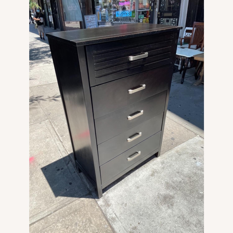 Chuanheng Furniture 5-Drawer Black Dresser - image-4