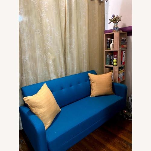 Used Araceli Square Arm Sofa in Peacock for sale on AptDeco