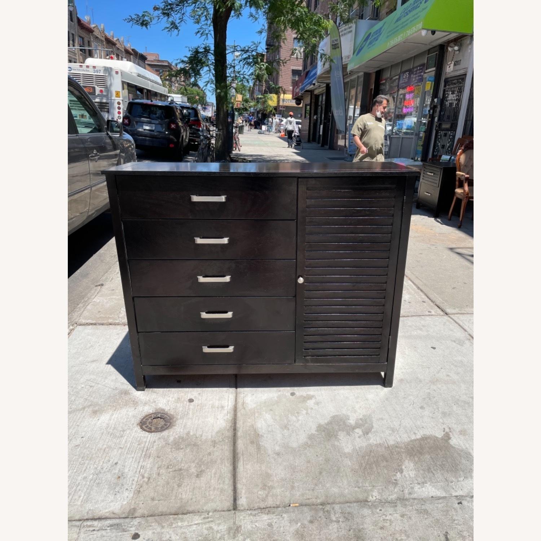 Chuanheng Furniture Black Dresser w/ Mirror - image-19