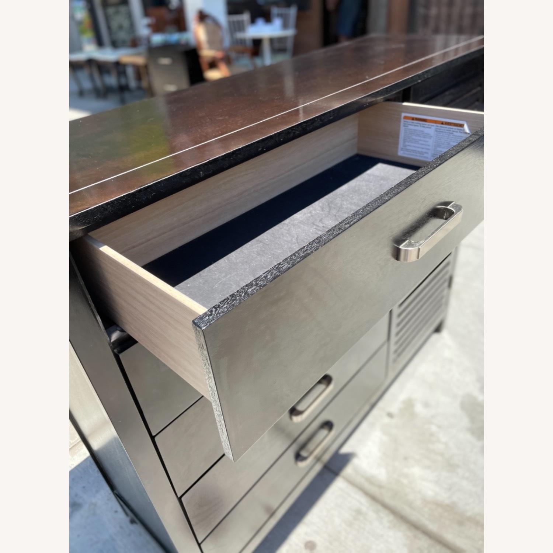 Chuanheng Furniture Black Dresser w/ Mirror - image-2
