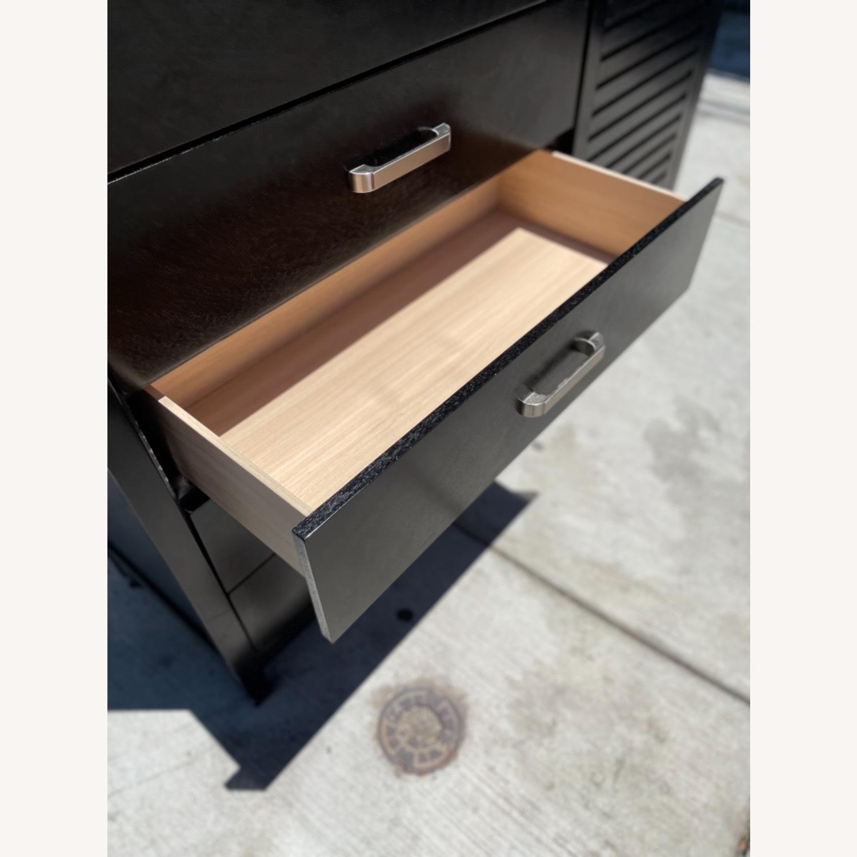Chuanheng Furniture Black Dresser w/ Mirror - image-11