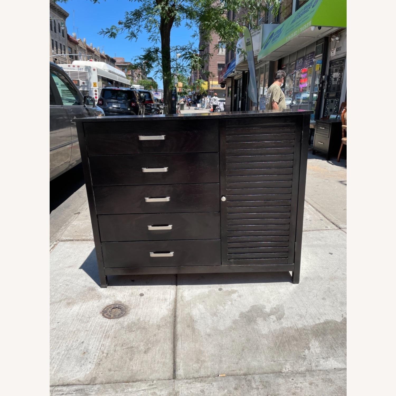 Chuanheng Furniture Black Dresser w/ Mirror - image-18
