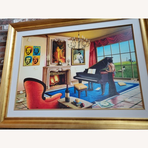 Used Orlando Glicee Wall Art, Signed and Numbered (19/99) for sale on AptDeco