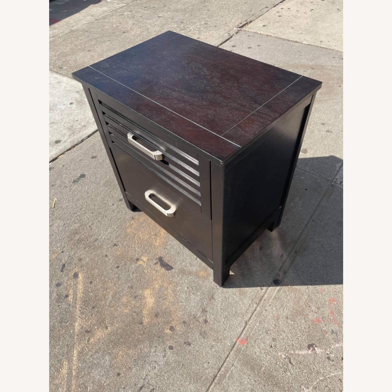 Chuanheng Furniture Black Nightstand - image-4