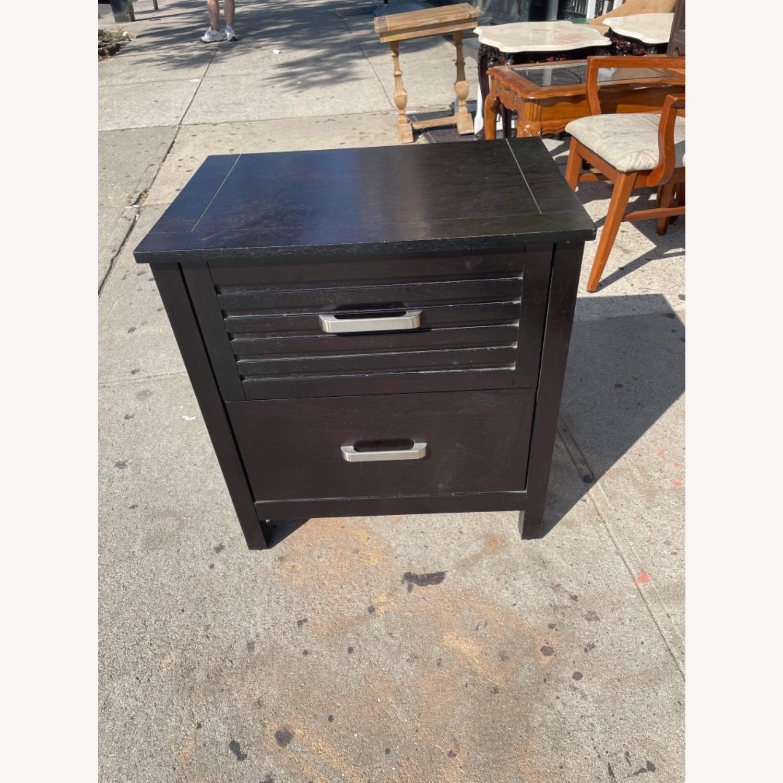Chuanheng Furniture Black Nightstand - image-3