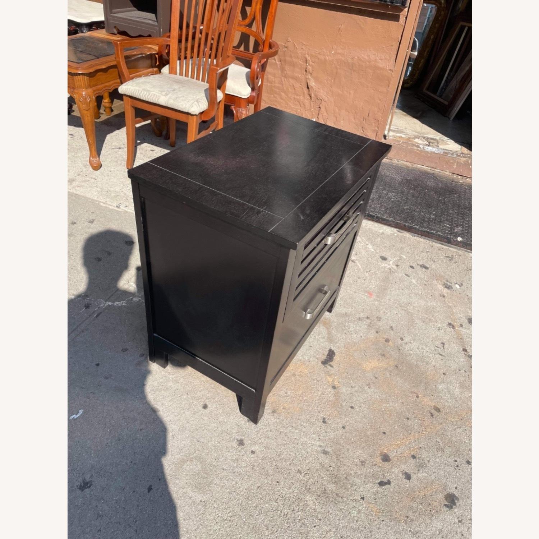 Chuanheng Furniture Black Nightstand - image-2