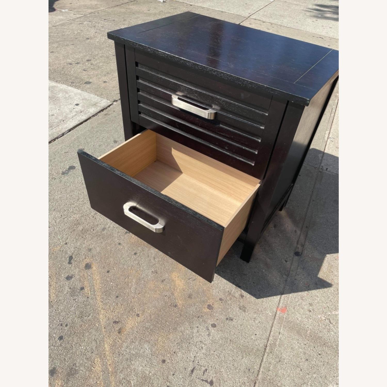Chuanheng Furniture Black Nightstand - image-11