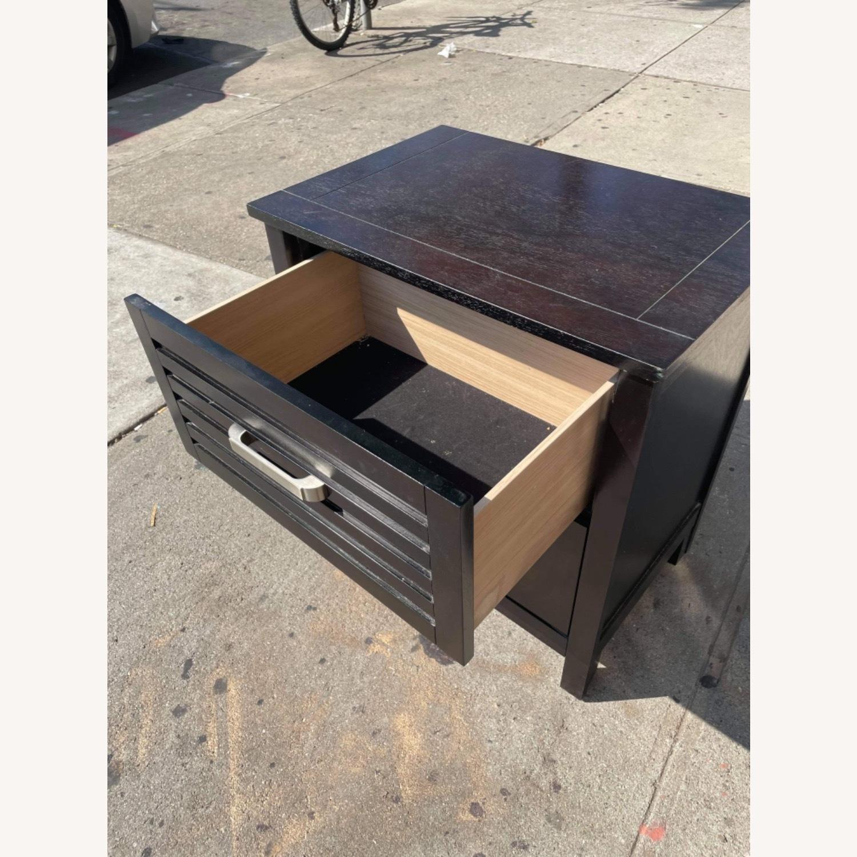Chuanheng Furniture Black Nightstand - image-8