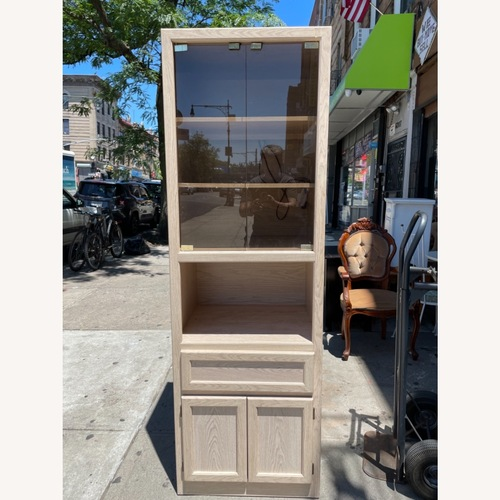 Used Canadian Cabinet- Wall Unit w/ Light for sale on AptDeco