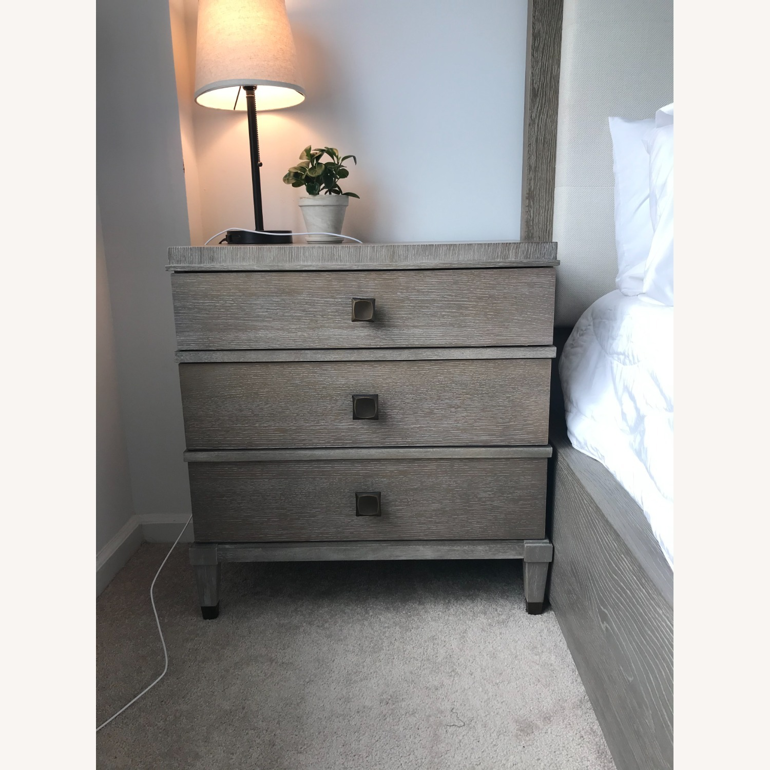 Universal Furniture Nightstand with Outlets - image-2