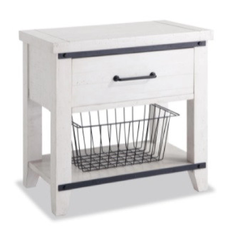 Bob's Discount Furniture Montana White Nightstand - image-4