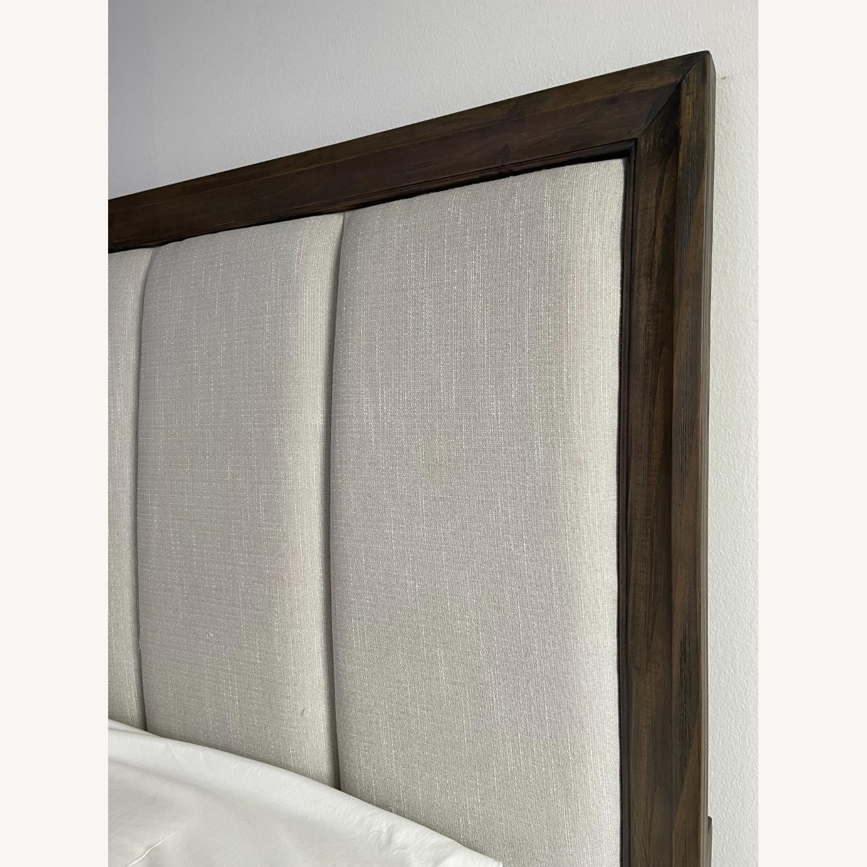 Brueban Cali King Panel Bed with 2 Storage Drawers - image-1