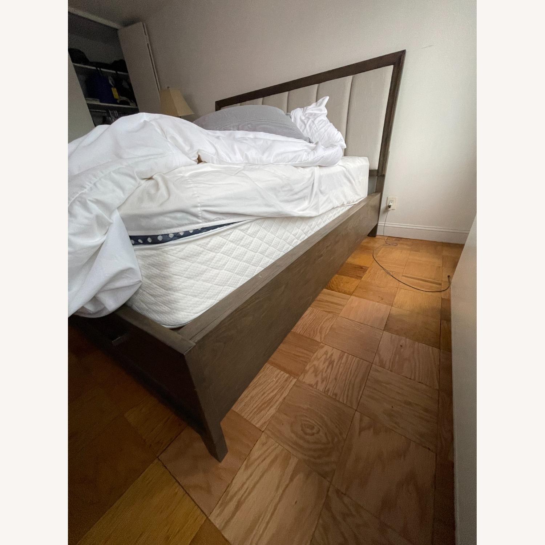 Brueban Cali King Panel Bed with 2 Storage Drawers - image-2