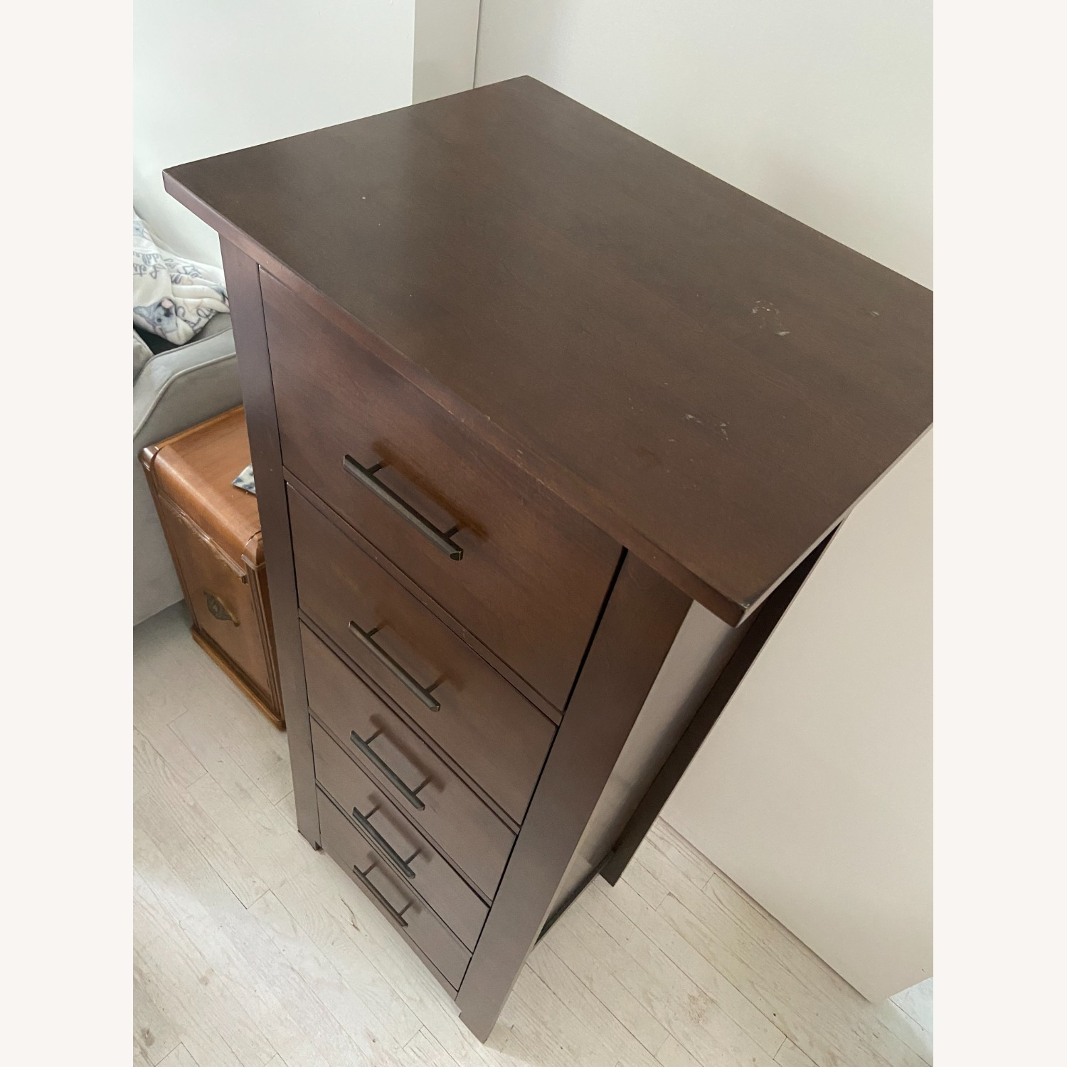 Raymour & Flanigan Tall Chest of Drawers - image-4