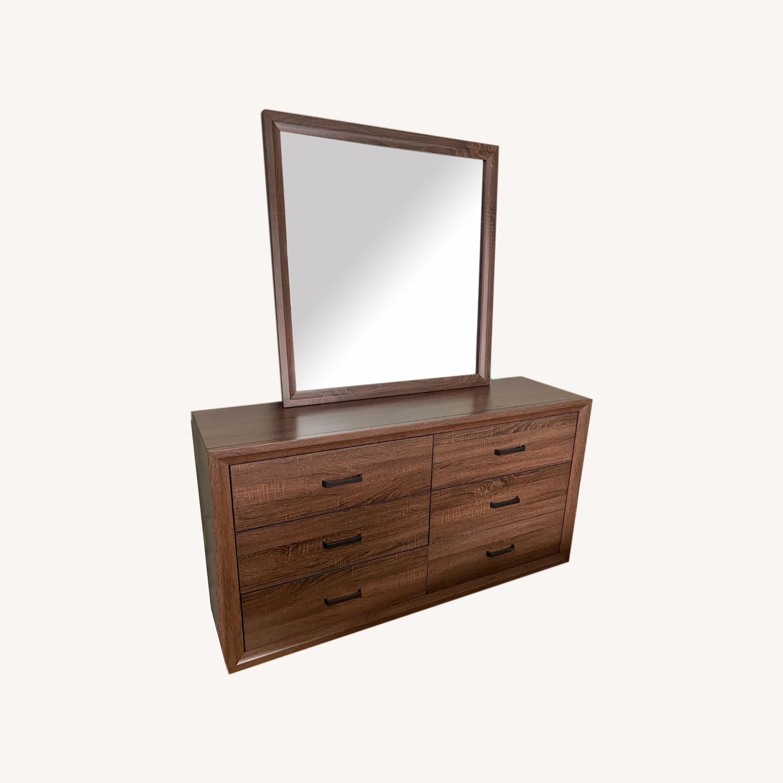 Wayfair Dresser with Mirror - image-0