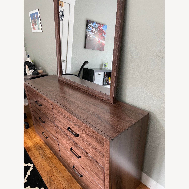 Wayfair Dresser with Mirror - image-3