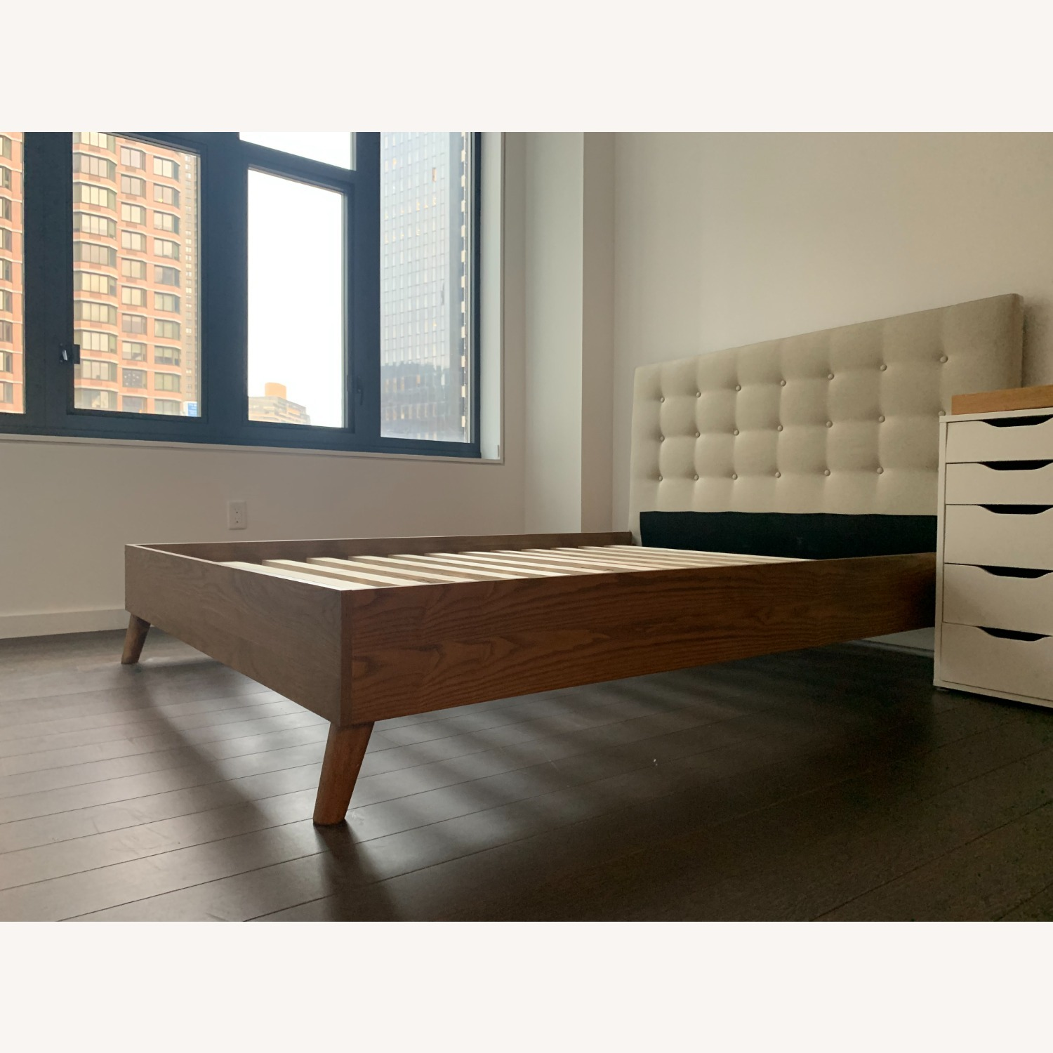 AllModern Wood Queen Size Bed - image-1
